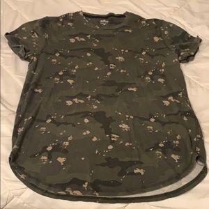 Men's Hollister Camo T-Shirt